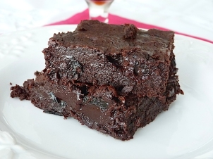 brownie chocolate amargo